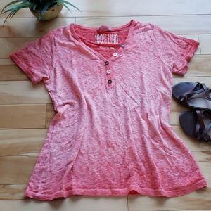Femme Fatale - 100% Linen short sleeved top
